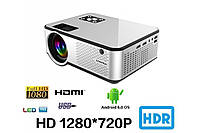 Смарт-проектор Cheerlux C9 2800 люмен 1280x720 720P HD, поддержка HDMI x 2 / USB x 2 / VGA / AV (Белый)