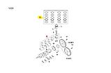 Кольца поршневые Авео 1.5i STD 76.5мм, GM, 93742961, фото 4