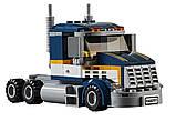 "Конструктор Lepin 02025 (Аналог Lego City 60151) ""Грузовик для перевозки драгстера"" 360 деталей, фото 2"