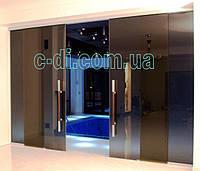 Стеклянные раздвижные двери, фото 1