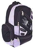 Школьный рюкзак «Q&Q» серый для мальчиков, фото 1
