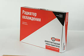 Радиатор ВАЗ 2108 2109 21099, 2113 2114 2115 карбюратор, алюм. (под датчик включения вентилятор) основной ДААЗ