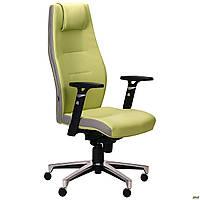 Кресло Элеганс НВ Неаполь-34 (салатовый), боковины/задник Неаполь-23 (серый) TM AMF, фото 1