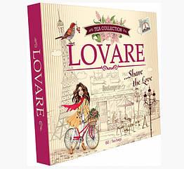 Lovare Assorti Tea Портфельчик колекція пакетованого чаю 12 видів по 5 штук в упаковці