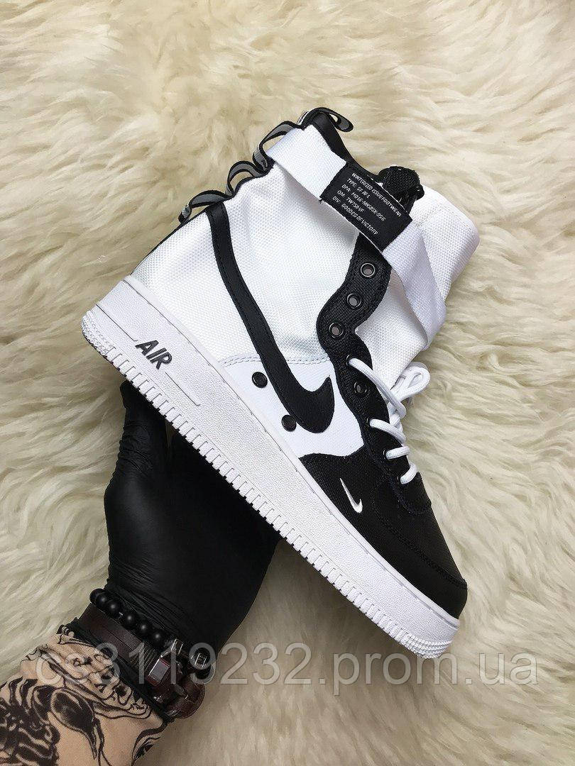 Мужские кроссовки Nike Air Force Special Field (Белые)