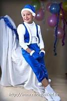 Прокат костюма Карнавальный костюм Гном (синий, красный, цветной)