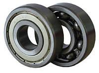 Подшипники радиальные шариковые однорядные с одной защитной шайбой ГОСТ 60211А DIN 6211-Z