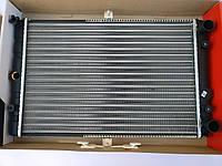 Радиатор ВАЗ 2108 2109 21099, 2113 2114 2115 карбюратор, алюм. (под датчик включения вентилятор) основной ДААЗ, фото 1