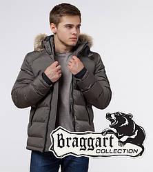 Braggart Aggressive 18540 | Куртка зимняя с опушкой сафари