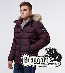 Braggart Aggressive 18540 | Зимняя куртка для мужчин темно-бордовая