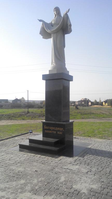 Спорудження монументу в с.Карачинів Яворівського р-ну