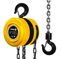 Лебедка цепная Vorel 2000 кгЛебедка цепная Vorel 2000 кг  Цепной подъемник имеет ручной привод и эффективную п