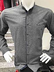 Теплая кашемировая батальная рубашка Paul Jack стойка