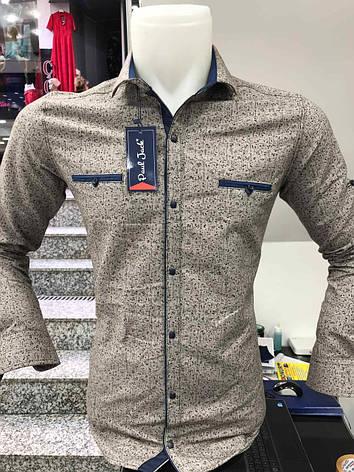 Теплая кашемировая рубашка Paul Jack, фото 2