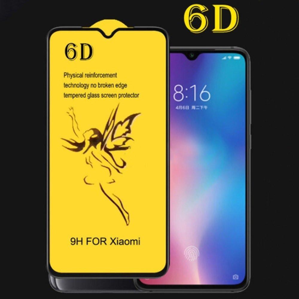 Стекло 6D для Xiaomi Premium - black