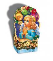 Новогодняя коробка,Ангел, 800 гр, Картонная упаковка для конфет