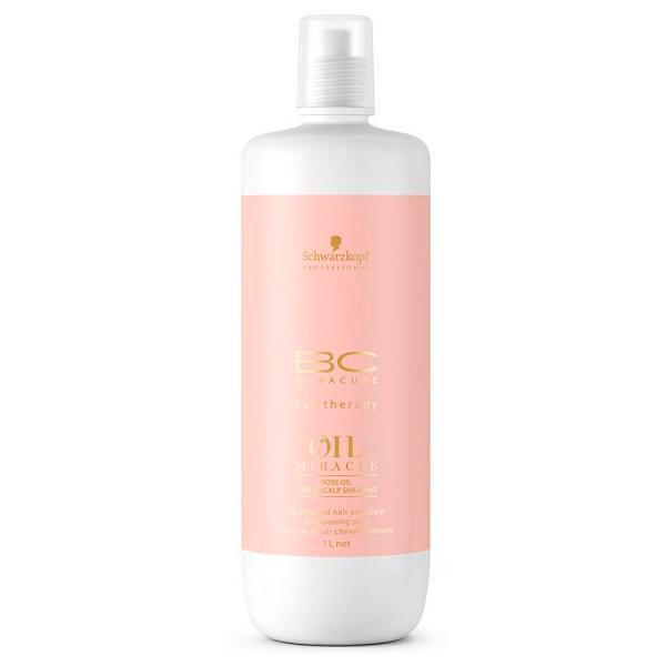 Шампунь с экстрактом дикой розы Schwarzkopf Bonacure Oil Miracle Rose Oil Hair & Scalp Shampoo 1000 мл