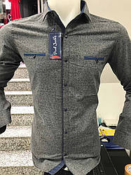 Теплая кашемировая рубашка Paul Jack