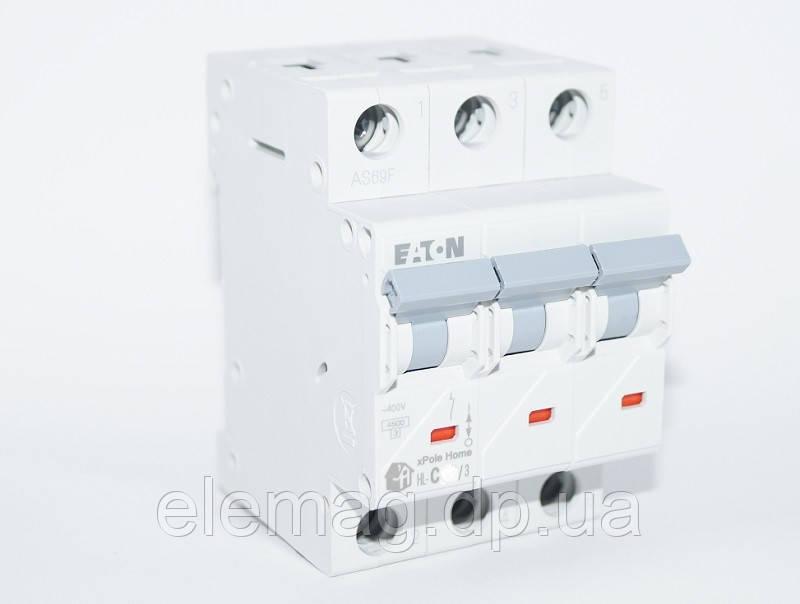 Автоматический выключатель 10 А  тип C 3 полюса HL-C10/3 Eaton 194789