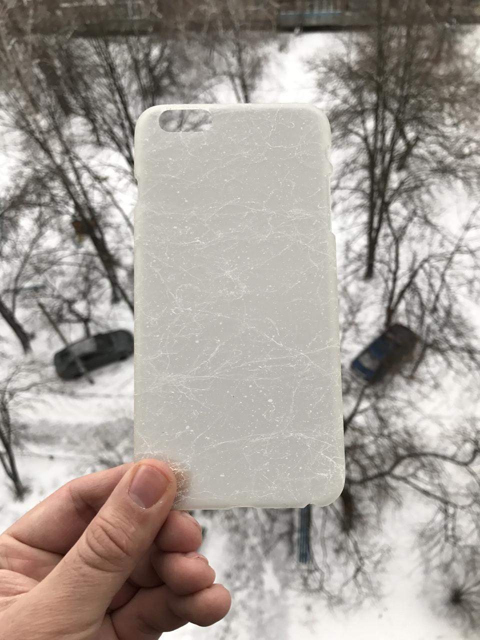 Чехол паутина iphone 6/6s plus + защитное стекло на экран в подарок
