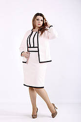 Нарядный костюм: платье и жакет Разные цвета Индивидуальный пошив