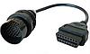 Перехідник для сканера Mercedes 38 pin - > OBD2 16 , ОБД2