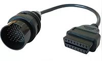 Перехідник для сканера Mercedes 38 pin - > OBD2 16 , ОБД2, фото 1
