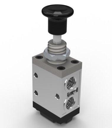 Одинарная демпферная кнопка Hiposan 49001002