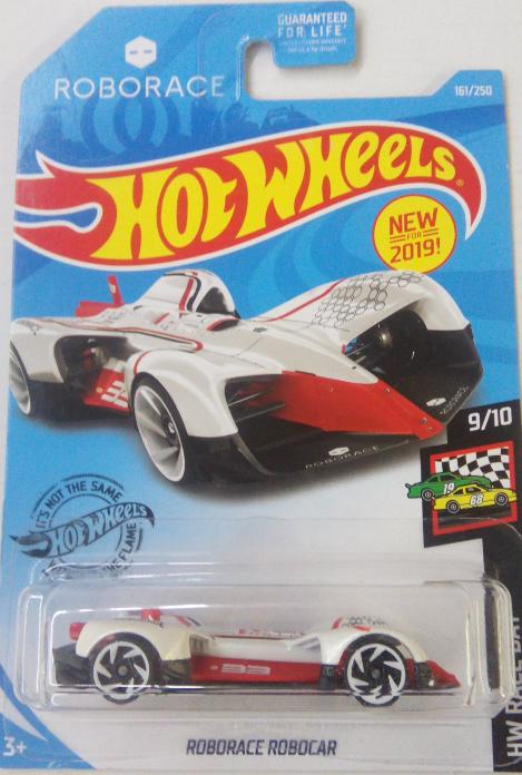 Машинка Hot Wheels 2019 Roborace Robocar