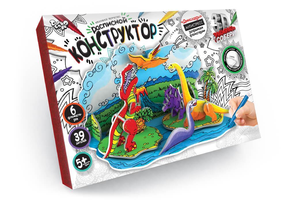 Розписний 3D Конструктор Danko Toys (3DK-01-04)