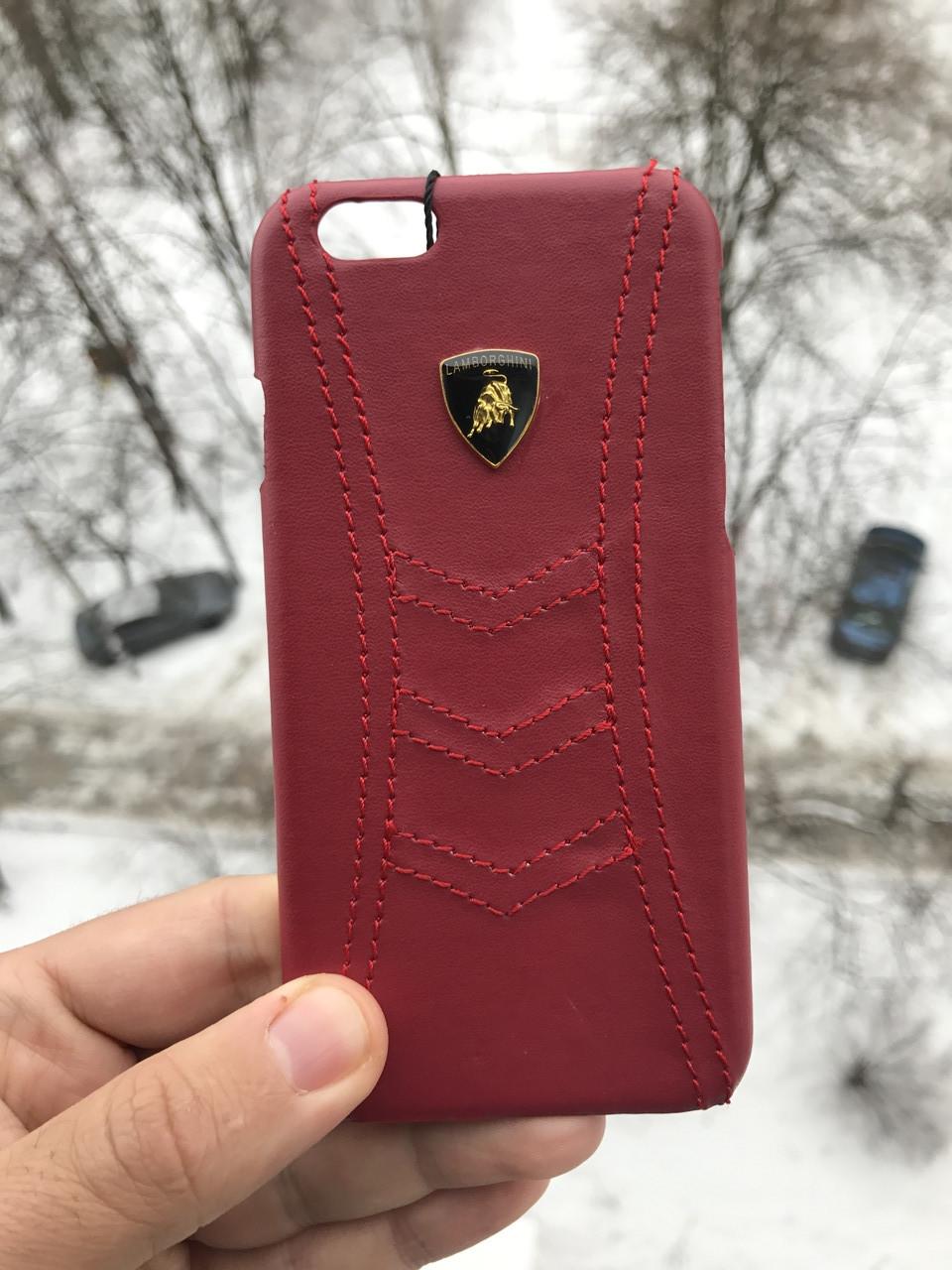 Чехол для iPhone 6\6s Lamborghini Ламборгини + защитное стекло на экран в подарок