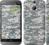 "Чехол на HTC One M8 dual sim Камуфляж ""1085c-55"""