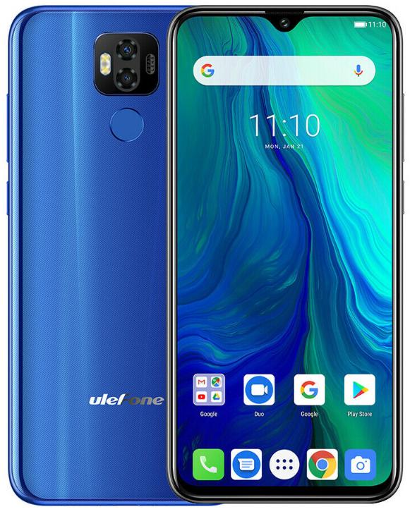 UleFone Power 6 4/64 Gb blue, NFC