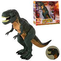Детская игрушка динозавр ходит, рычит со световыми эффектами 6152