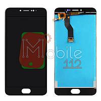 Экран Meizu M3 Note L681H модуль (Дисплей + тачскрин), чёрный