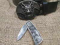 Нож в ремне