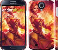 "Чехол на Samsung Galaxy S4 i9500 Dota 2. Lina 2 ""988c-13"""