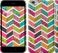 "Чехол на iPhone 6 Шеврон v3 ""1058c-45"""