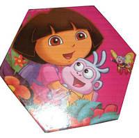 """Набор для детского творчества """"Dora"""" (46 предметов) шестигранный"""
