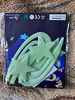 """Люминесцентные фигурки """"Космос"""" - в наборе 4шт., размер от 3,5 до 8см, пластик, есть 2-х сторонний скотч"""