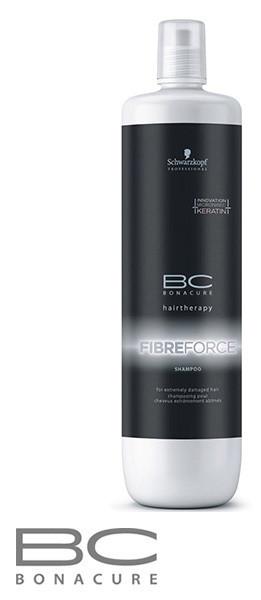 Укрепляющий шампунь Schwarzkopf Professional ВС Bonacure Fibre Force Shampoo 1000  мл