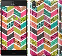 "Чехол на Sony Xperia Z3 D6603 Шеврон v3 ""1058c-58"""