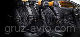 Накидки на сидения CarFashion Мoдель: MONACO PLUS  Черный (21826)
