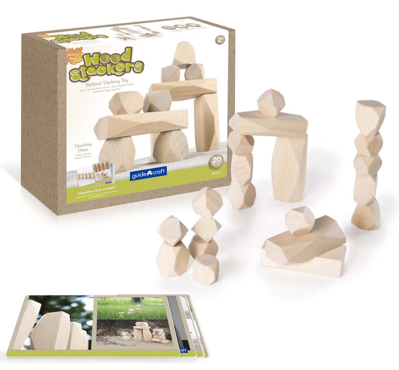 Набор блоков Стоунхендж Natural Play Guidecraft (G6772)