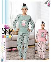 """Теплая пижама для девочки """"SNC"""", 6-14 лет,Турция"""