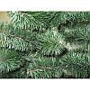 """Искусственная елка """"Принцесса"""" зелёная с белыми кончиками 1.3м, фото 2"""
