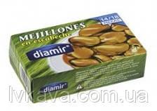 Мидии маринованные Mejillones en Escabeche  Diamir , 115 гр