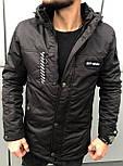 😜 Куртка - Мужскаяя осенняя куртка черного цвета Off-White, фото 2