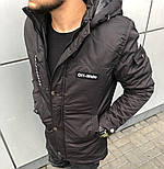 😜 Куртка - Мужскаяя осенняя куртка черного цвета Off-White, фото 3