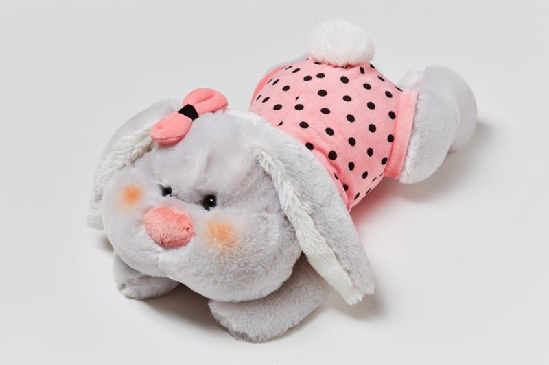 Мягкая игрушка зайчик Пинки маленький